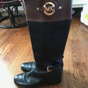 Authentic Micheal Kors Harland Riding Tall Boots